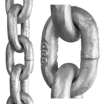 Bollard Barrier Chain - Galvanised
