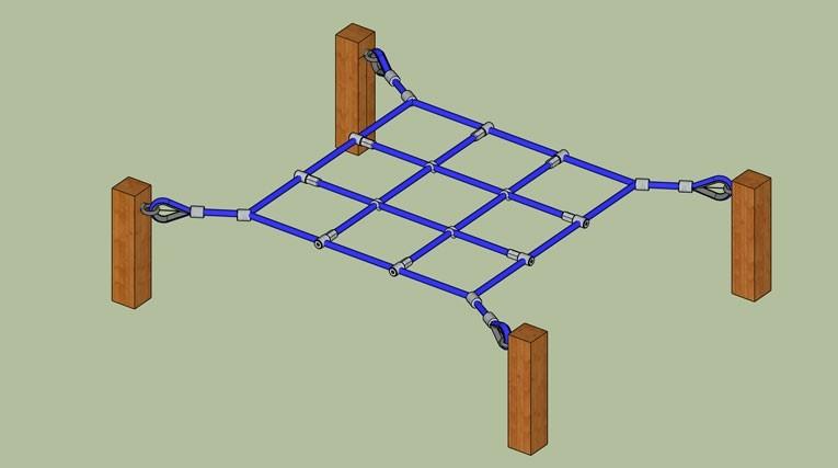 Horizontal Playground Net