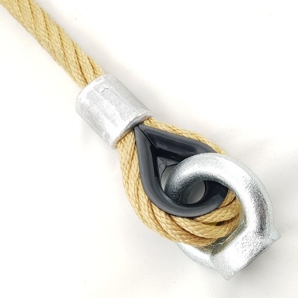 Nylon Small Eye Playground Rope Connection
